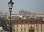 Prague - St Vitus Cathedral from Charles Bridge