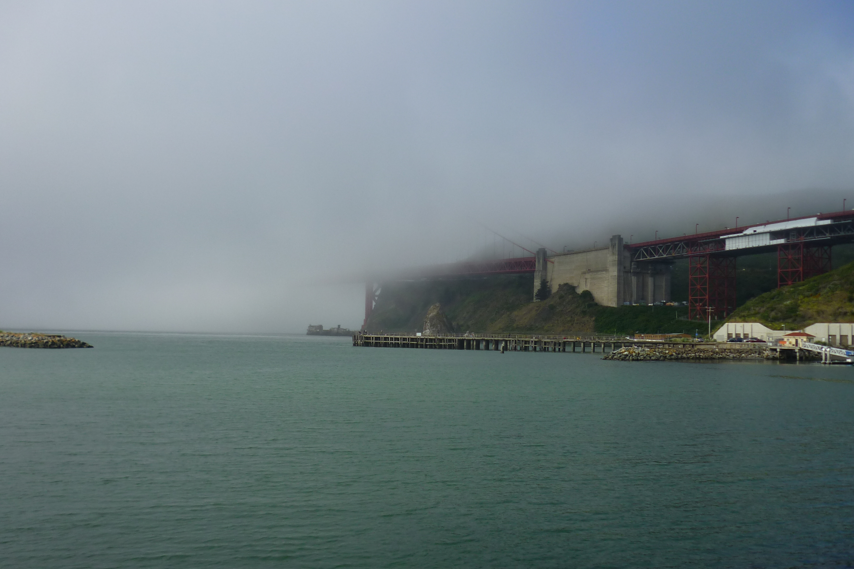 Golden Gate Bridge - Somewhere in there