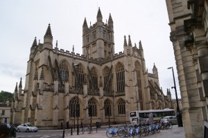 Bath Abbey. Not viewed from a car
