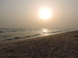 New year on the Ghanaian coast